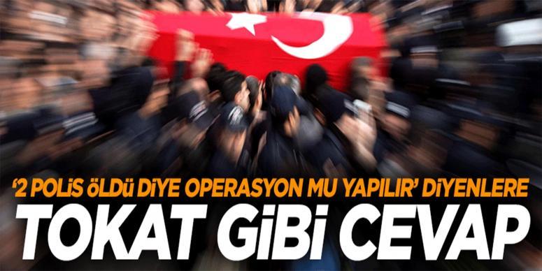 Şanlıurfa Eminyet müdürü şehit cenazesinde isyan etti