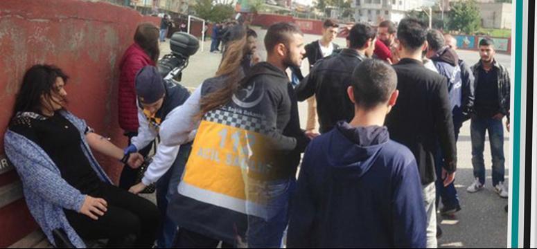 Darıca'da AK Parti ile HDP'liler birbirine girdi!