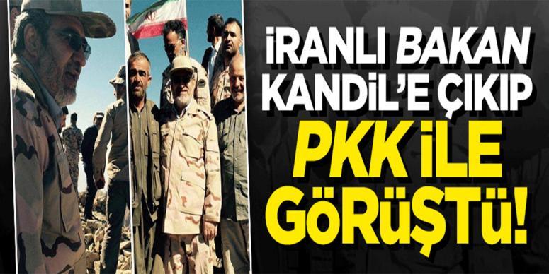 ''İranlı bakan, Kandil'e çıkıp PKK ile görüştü'' iddiası