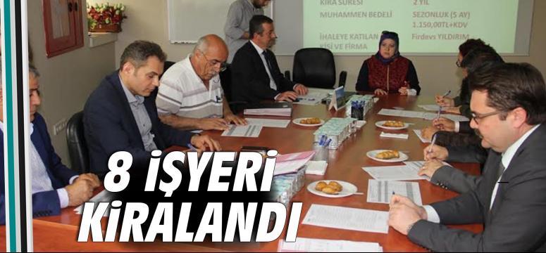 Encümenin yeni üyeleri ilk toplantısını yaptı