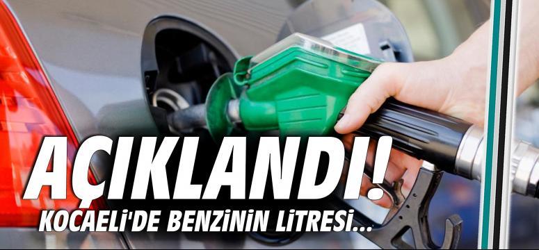 Kocaeli'de benzinin litresi...