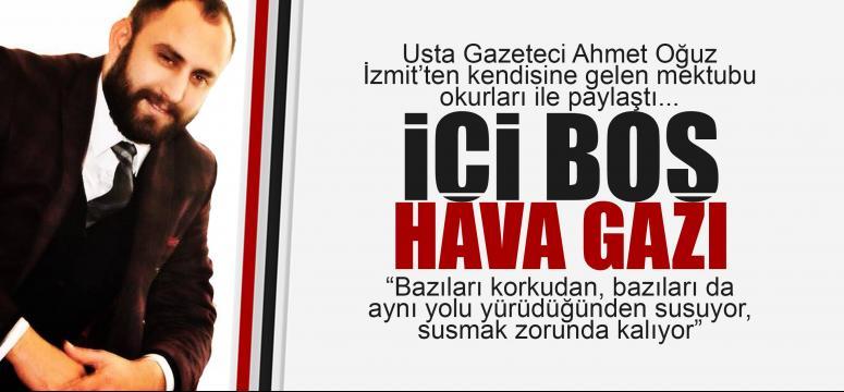 Ahmet Oğuz'dan olay