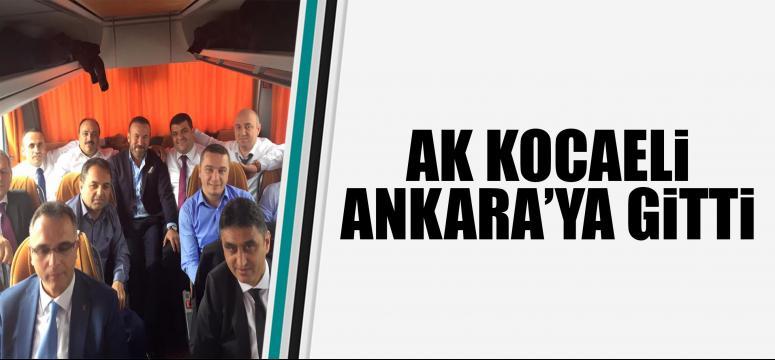 Ak Kocaeli Ankara'ya gitti