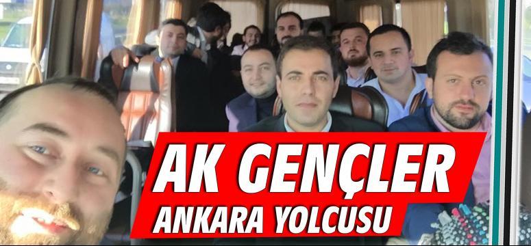 Ak Gençler Ankara yolcusu