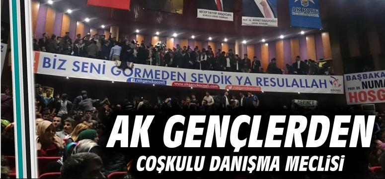 AK Gençlerden coşkulu danışma meclisi