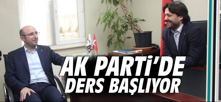 AK Parti'de ders başlıyor