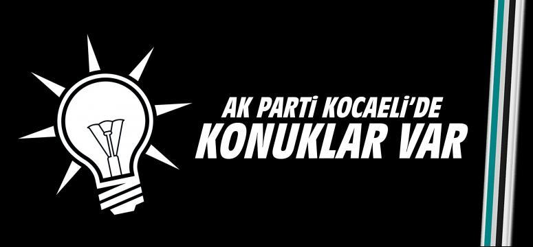 AK Parti'de konuklar var