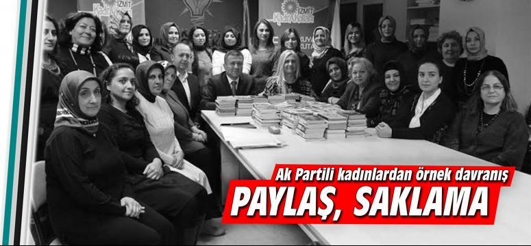 AK Partili kadınlardan örnek proje