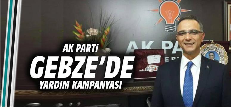 AK Parti Gebze'de yardım kampanyası başladı