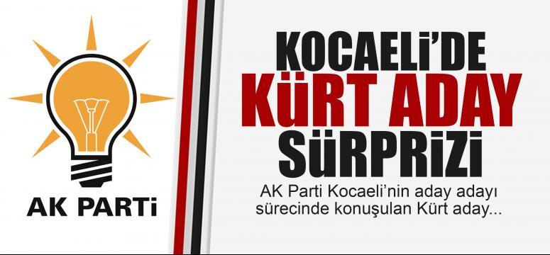AK Parti Kocaeli'de Kürt aday sürprizi!