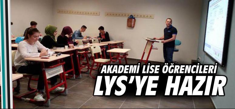 Akademi Lise öğrencileri LYS'ye hazır