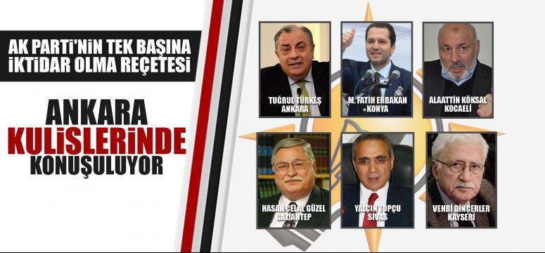 Ankara kulisleri bunu konuşuluyor!