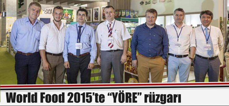 """World Food 2015'te """"YÖRE"""" rüzgarı"""