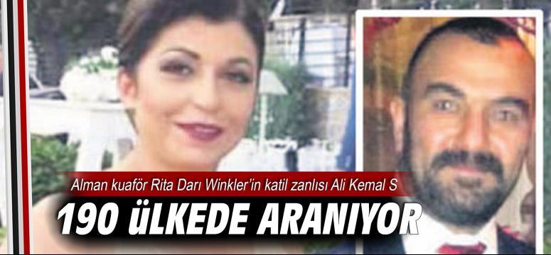 Rita Darı Winkler'in katil zanlısı kırmızı bültenle aranıyor