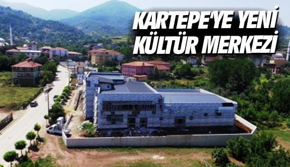Kartepe'ye yeni Kültür Merkezi