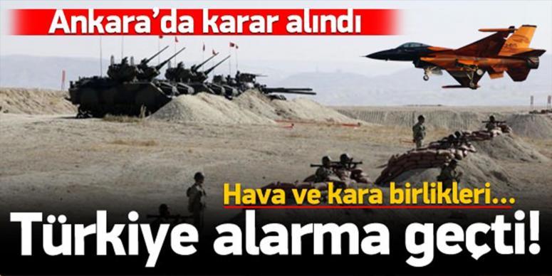 Ankara'da karar alındı