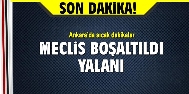Ankara'da sıcak dakikalar