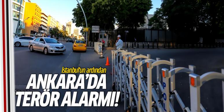 Ankara'da terör alarm!