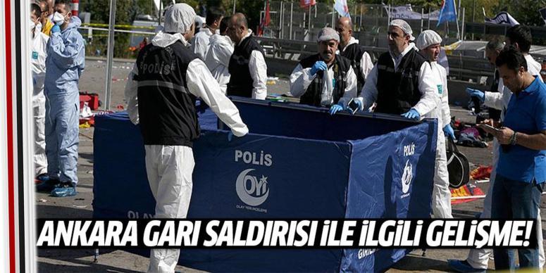 Ankara Garı saldırısında flaş gelişme