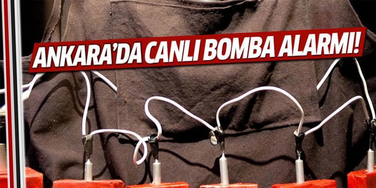 Ankara'da canlı bomba yakalandı!