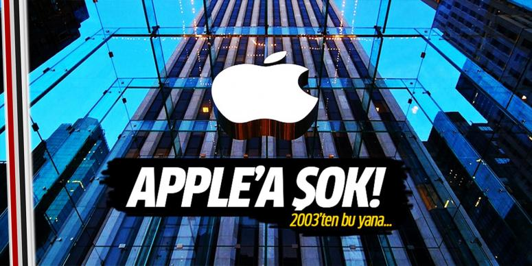 APPLE'a şok