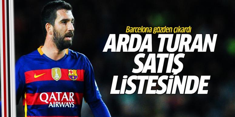 Arda Turan satış listesinde