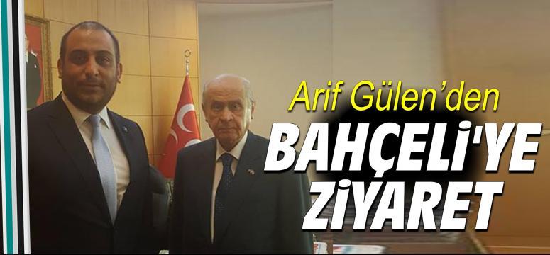 Arif Gülen Bahçeli'yi ziyaret etti