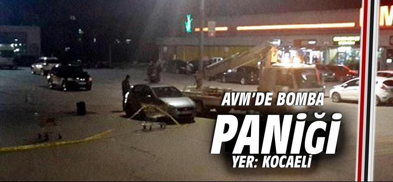 Avm'de bomba paniği
