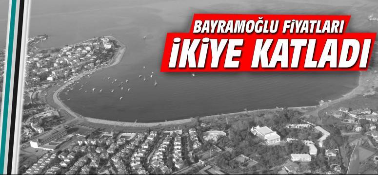 Bayramoğlu'nda fiyatlar ikiye katladı