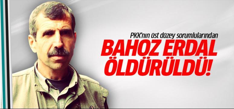 Bahoz Erdal öldürüldü