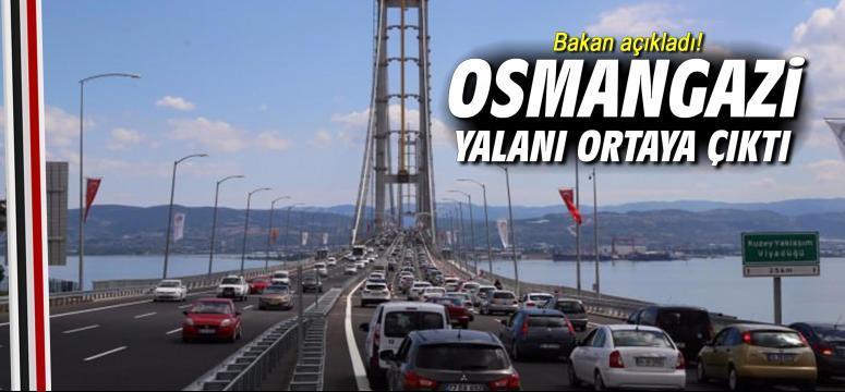 Osmangazi yalanı ortaya çıktı