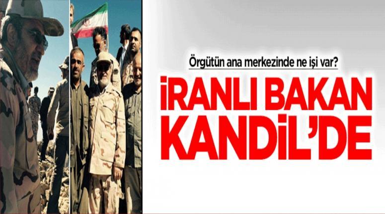 İranlı bakan asker elbisesi giyip Kandil'e çıktı