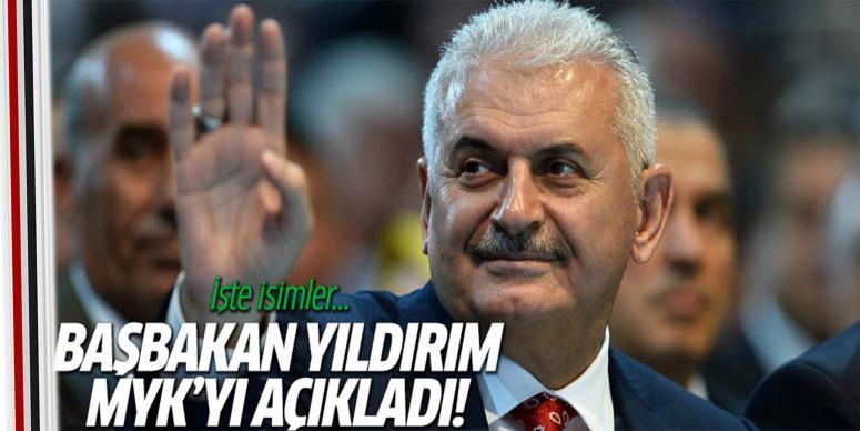 Başbakan Binali Yıldırım, MYK'yı açıkladı!