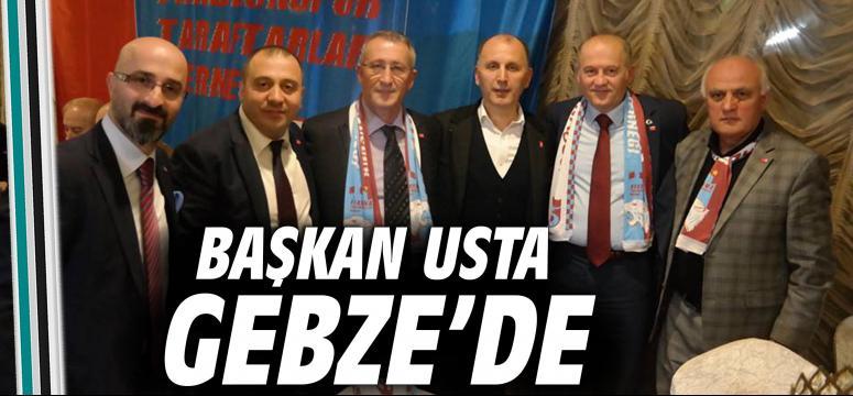 Başkan Usta Gebze'de
