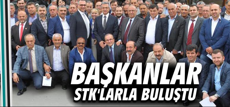 Başkanlar STK'larla buluştu
