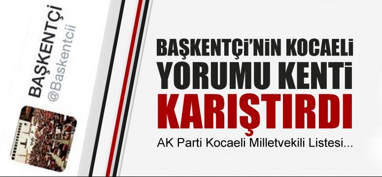 Başkentçi Kocaeli'yi yazdı!