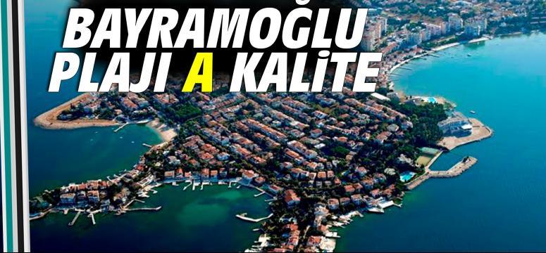 Bayramoğlu plajı A kalite