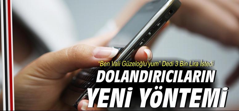 """""""Ben Vali Güzeloğlu'yum"""" Dedi 3 Bin Lira İstedi"""