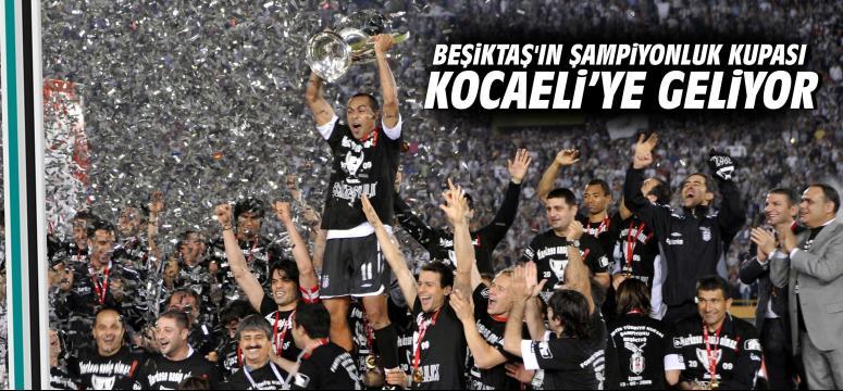 Beşiktaş'ın Şampiyonluk Kupası Kocaeli'ye Geliyor