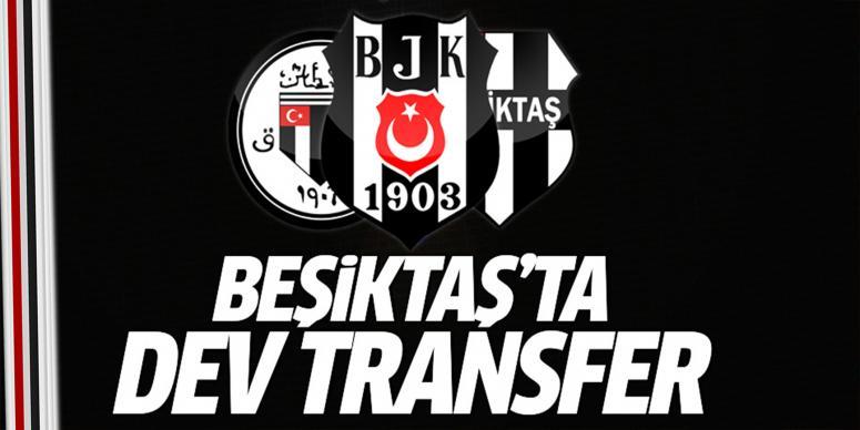 Beşiktaş ilk transferini gerçekleştiriyor