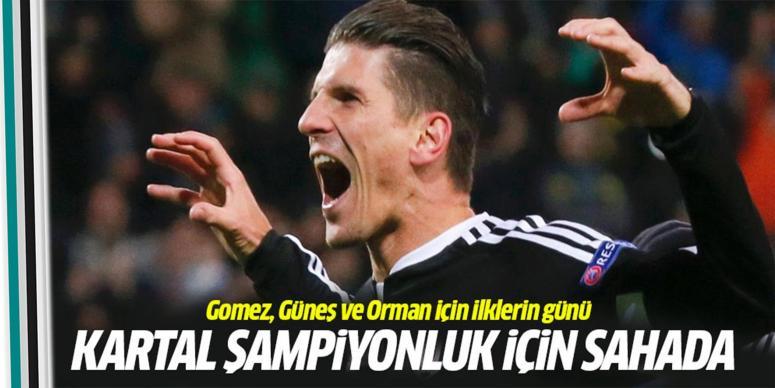 Beşiktaş şampiyonluk için Osmanlıspor maçına çıkıyor