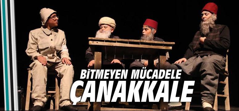 ''Bitmeyen Mücadele Çanakkale'' ye yoğun ilgi