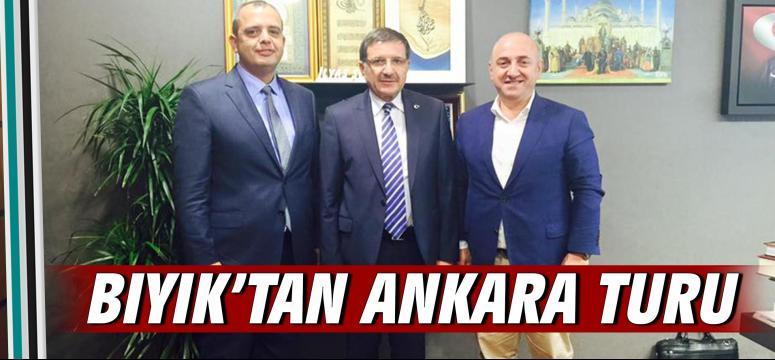 Bıyık'tan Ankara turu