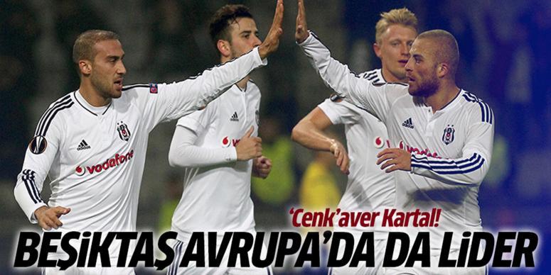 Beşiktaş Avrupa'da lider