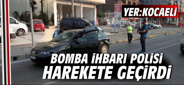 Bomba İhbarı Polisi Harekete Geçirdi