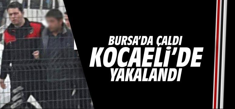 Kocaeli'de yakalandı