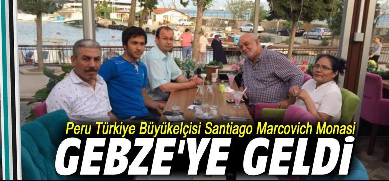 Büyükelçi Gebze'ye geldi