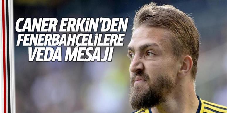 Caner Erkin'den Fenerbahçe taraftarına mesaj