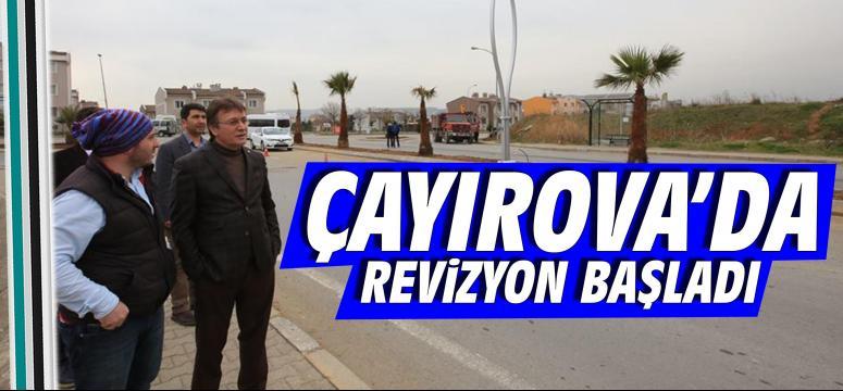 Çayırova'da revizyon başladı