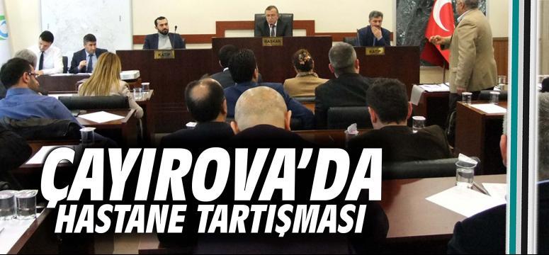 Çayırova'da hastane tartışması